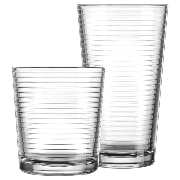 Solar Drinking Glasses - Set of 16