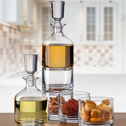 Duet Stacking Decanter Set