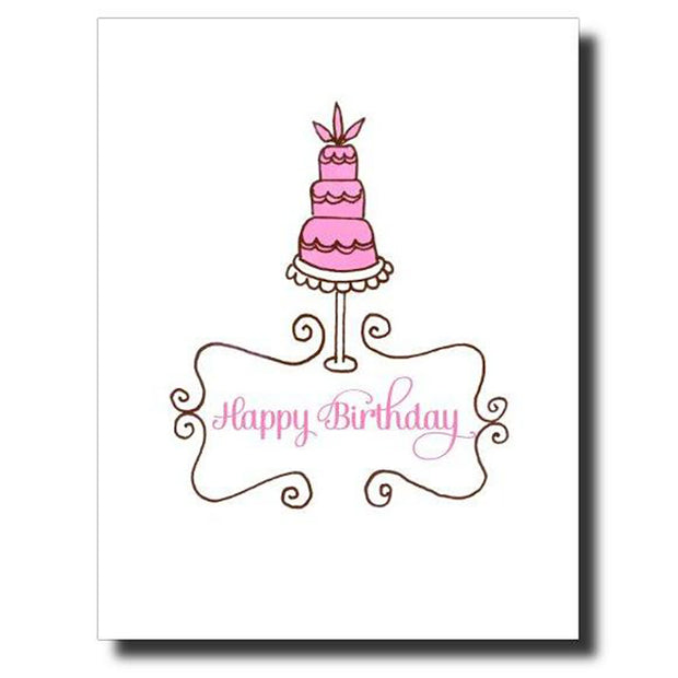 3 Tiered Birthday Card
