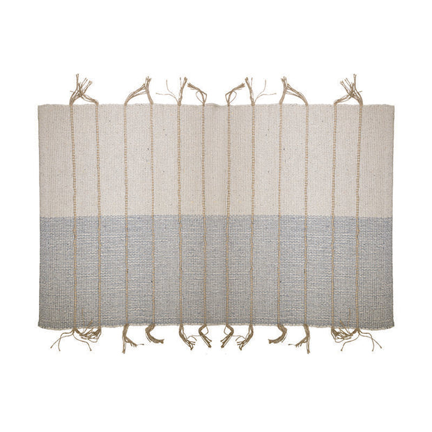 Multi Fringe Area Rug