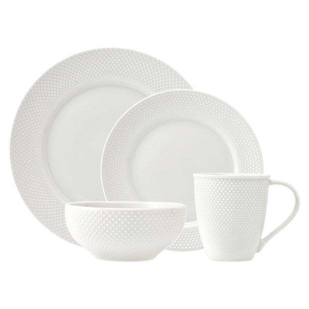 16-Piece Pique Dinnerware Set