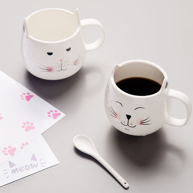 Cat Footed Coffee Mug