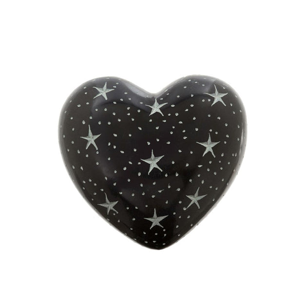 Twilight Soapstone Heart