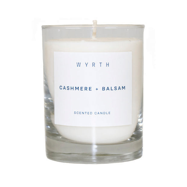 Wyrth Cashmere and Balsam Candle