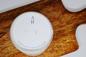 "10.5 Ounce ""Weekend at the Cabin"" Coconut Wax Candle"