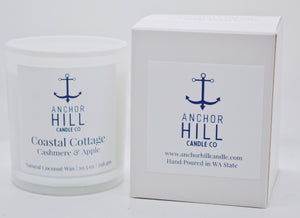 "10.5 Ounce ""Coastal Cottage"" Coconut Wax Candle"
