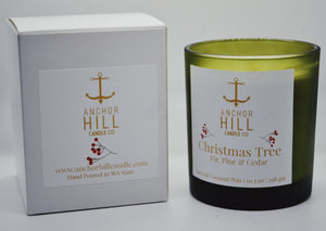 "10.5 Ounce ""Christmas Tree"" Coconut Wax Candle"