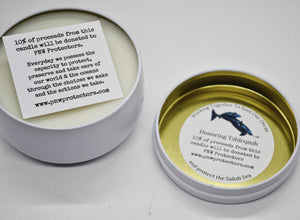 For the Orcas Coconut Wax Candle
