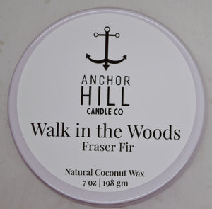 """Walk in the Woods"" Coconut Wax Candle"