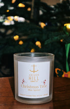 "Load image into Gallery viewer, 10.5 Ounce ""Christmas Tree"" Coconut Wax Candle"