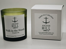 "Load image into Gallery viewer, 10.5 Ounce ""Walk in the Woods"" Coconut Wax Candle"