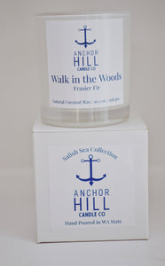 "10.5 Ounce ""Walk in the Woods"" Coconut Wax Candle"