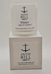 "10.5 Ounce ""Winter"" Coconut Wax Candle"