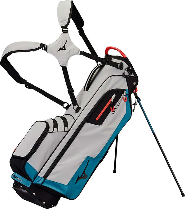 Mizuno BR-D3 Stand Bag - Grey / Blue