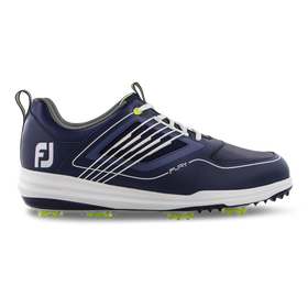FootJoy FURY Golf Shoe - Navy/White