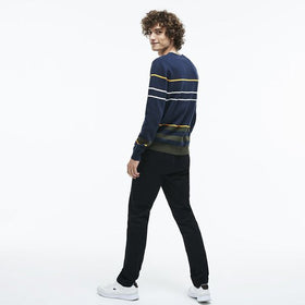 Lacoste Men's Slim Stretch Chino Pant - Black