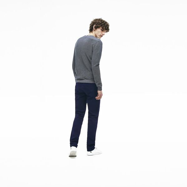Lacoste Men's Slim Stretch Chino Pant - Navy