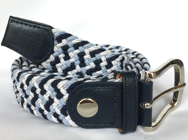 oTo Belt - Navy / Sky / White