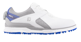 FootJoy Pro SL Boa - White / Grey / Royal Blue