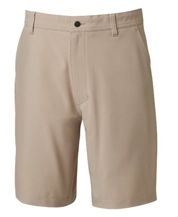 FootJoy Slim Fit Lightweight Tech Shorts - Khaki