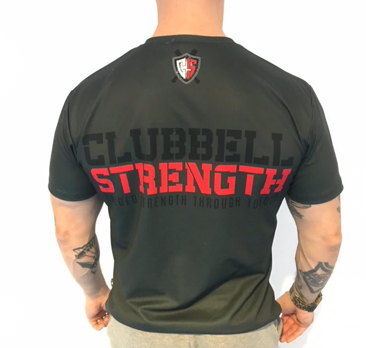 T-shirt Clubbell Strength - Gray