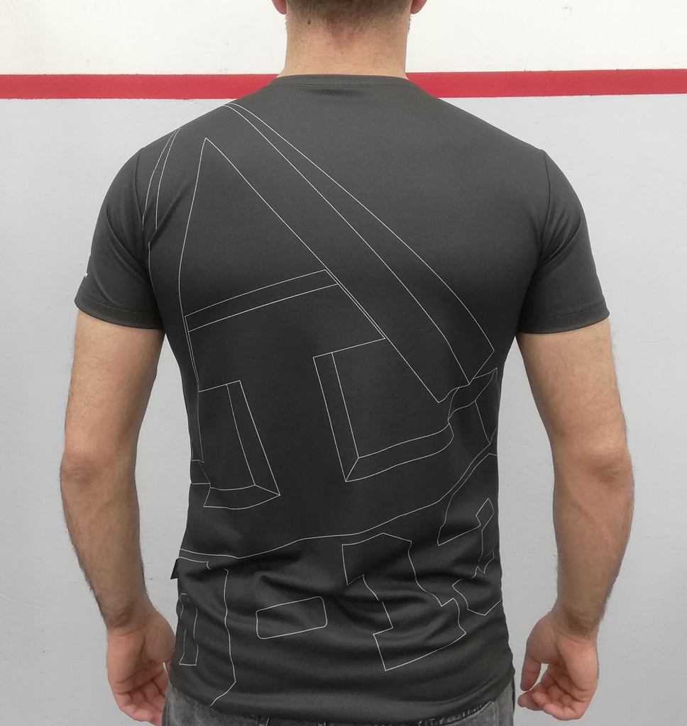 T-shirt TAD 0-13 Specila Edition - Charcoal black