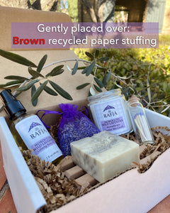 Moroccan Wild Lavender gift box | FREE SHIPPING