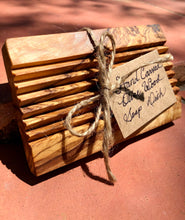 Load image into Gallery viewer, Handcrafted Natural Olive Wood Soap Dish