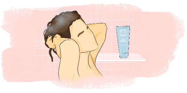 Start with Cleansing Your Scalp