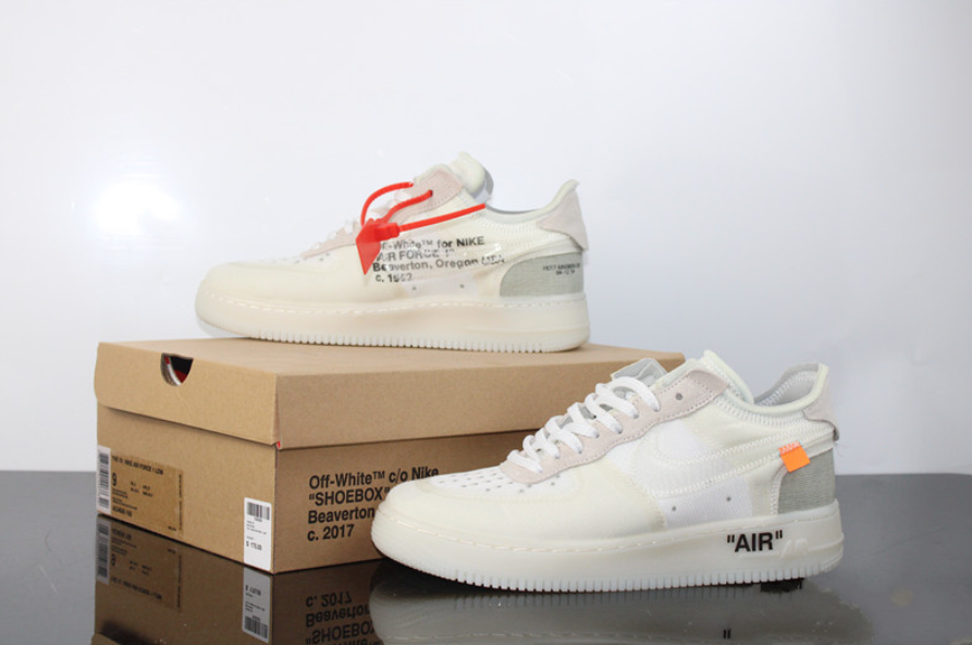 semestre Golpeteo travesura  Nike X Off White Air Force 1 Low – ClothesOG