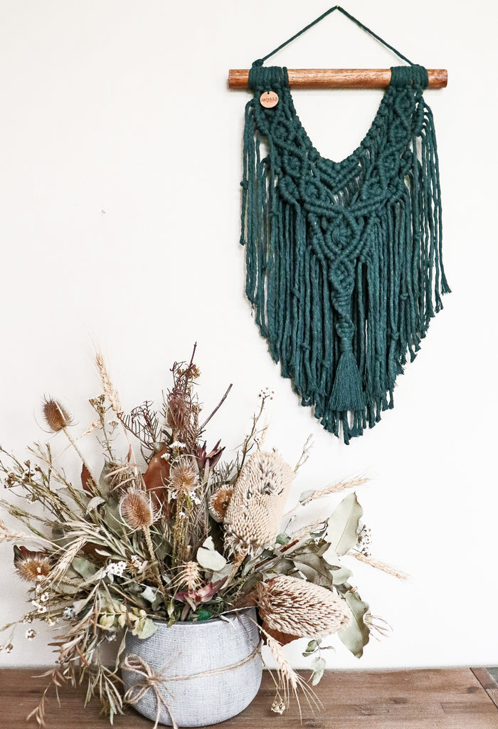 Forest | Small Macramè wall hanging