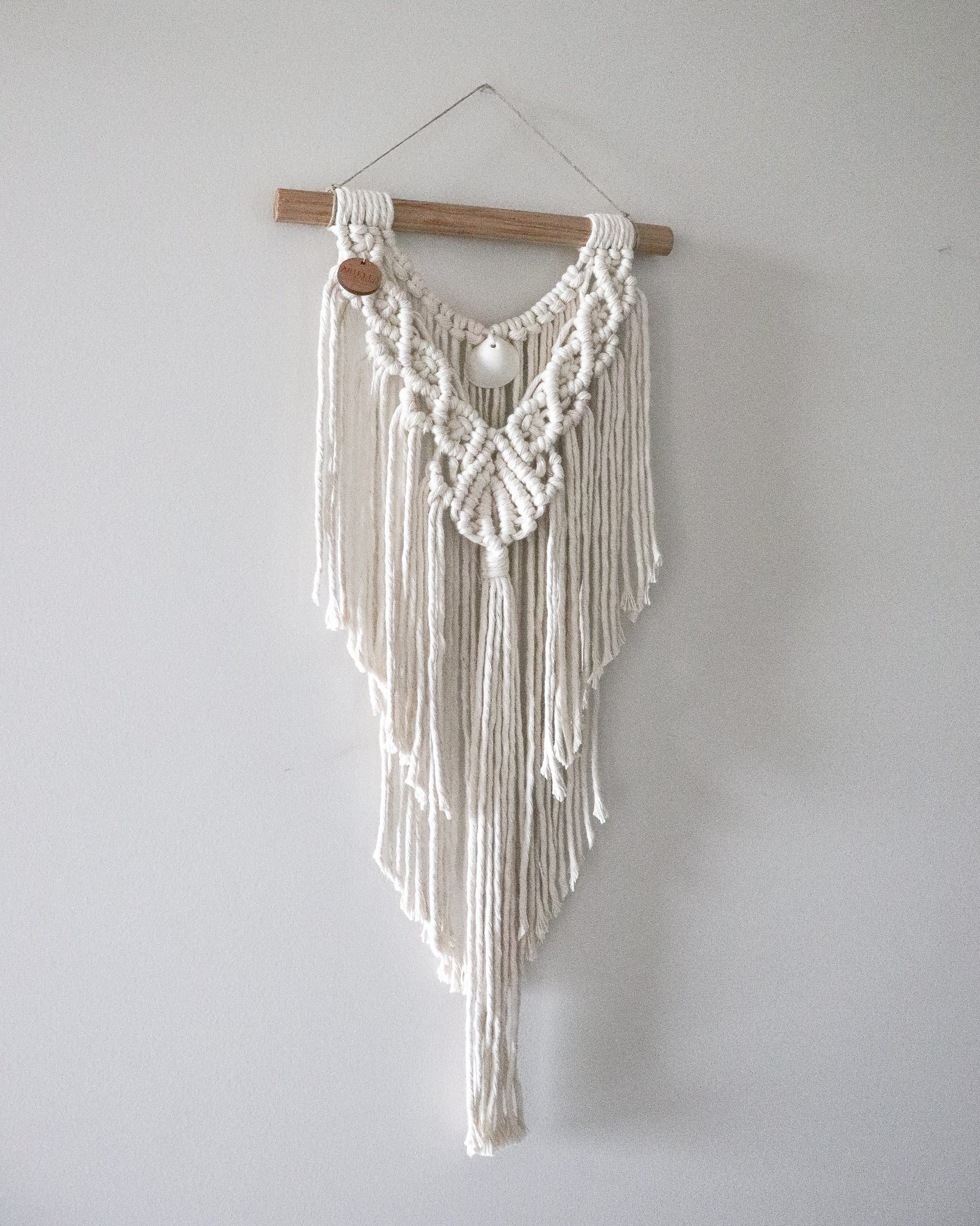 Natural | Small Macramè wall hanging