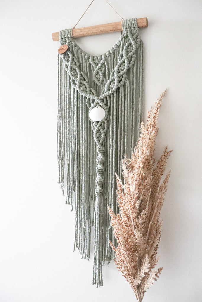 Sage | Small Macramè wall hanging