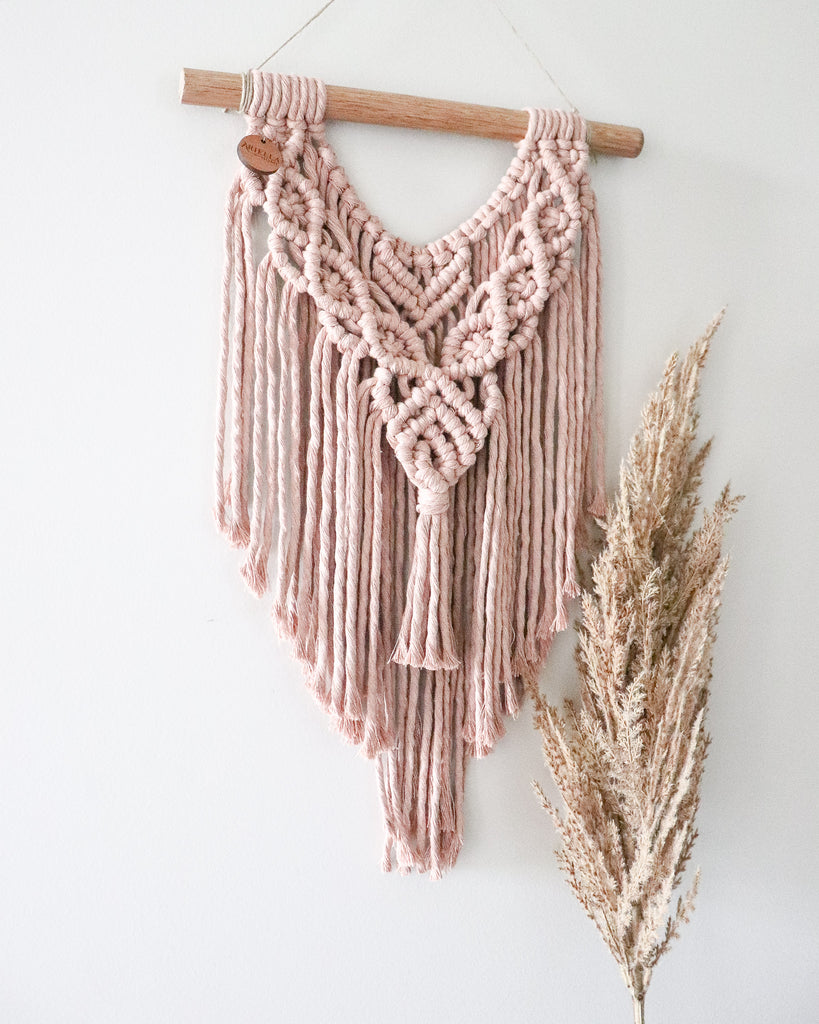 Nude | Small Macramè wall hanging