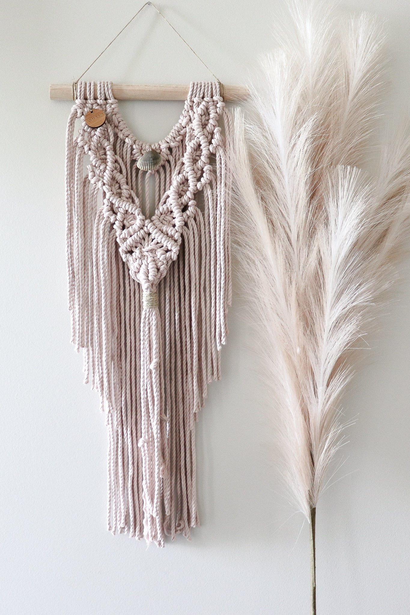 Bisque | Small Macramè wall hanging