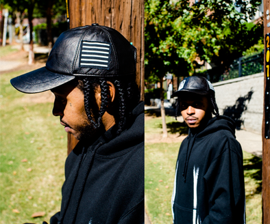 Introducing 01 Roxie Leather Patch Hat + freshiam