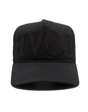 "BLACK x BLACK ""EVOL"" hat + freshiam"