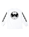 FRESHIAM + BLACK SCALE LONG SLEEVE TEE WHITE + freshiam