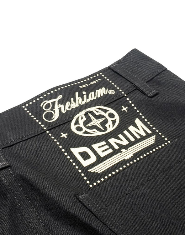"""FUKK"" Flared Jeans + freshiam"