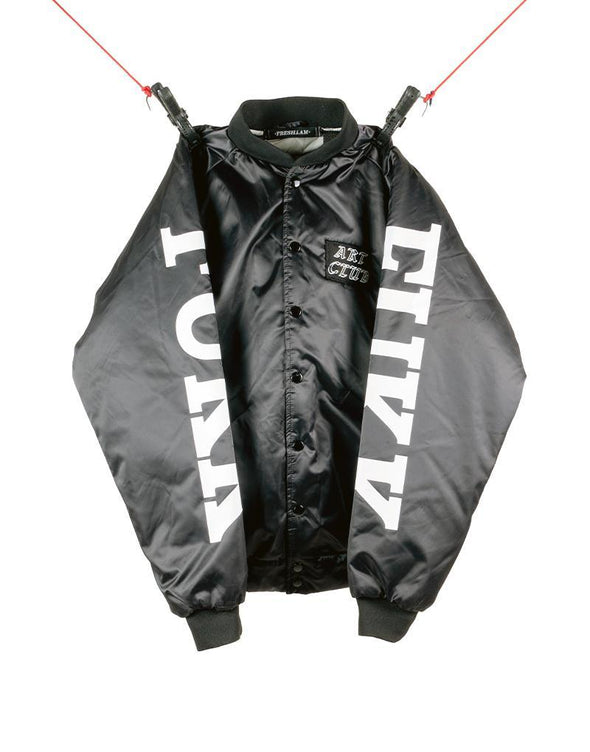 "SAMPLE ART CLUB ""FUKK"" BOMBER (S) - +FRESH.i.AM+"