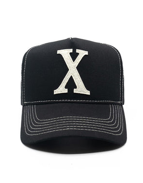 "+Fresh.I.Am+ SNAPBACKS ""X"" Contrast hat"