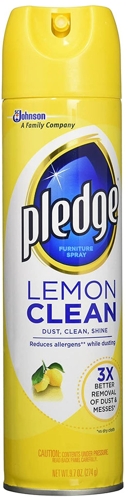 Pledge Lemon Clean Furniture Spray - 9.7 Oz
