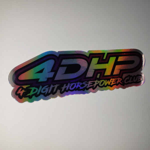 4DHPClub Holographic Decal