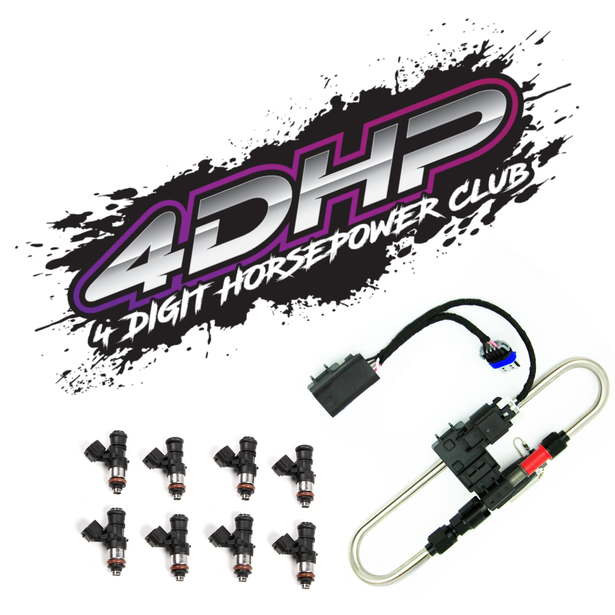 4DHPClub Flex Fuel E85 / Injector of choice combo package
