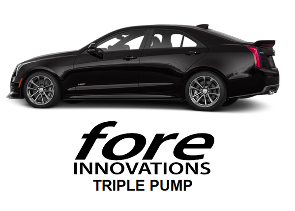 Fore Innovations - 2016+ Cadillac ATS-V Triple Pump Fuel System