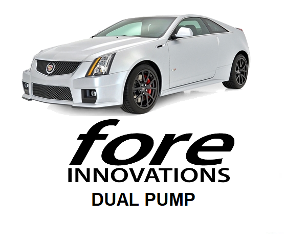Fore Innovations - 2009 - 2015 Cadillac CTS-V Dual Pump Fuel System