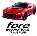 Fore Innovations - 2016+ Chevrolet Camaro 6th Gen Triple Pump Fuel System