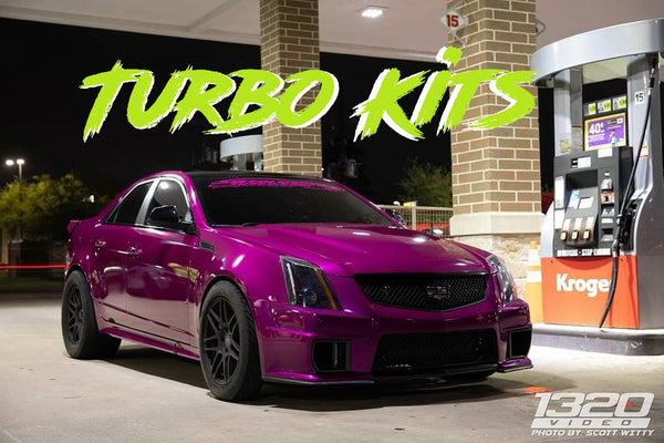 4DHPClub Twin Turbo Kit for 2009-2015 Cadillac CTS-V V2