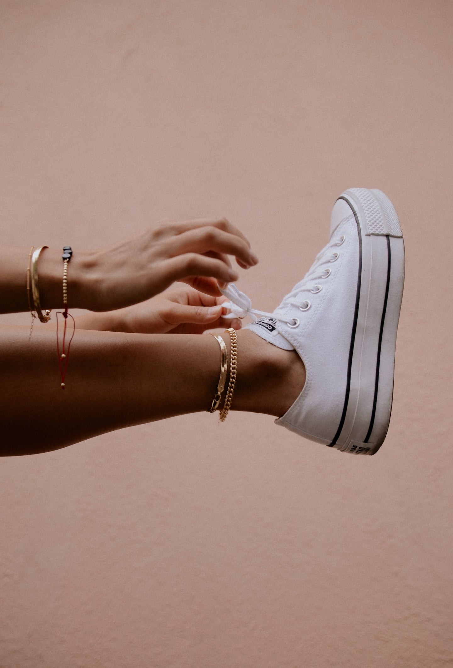 Handmade, Original, Gold Filled Anklets locally made in Los Angeles | Luna Lux Gems