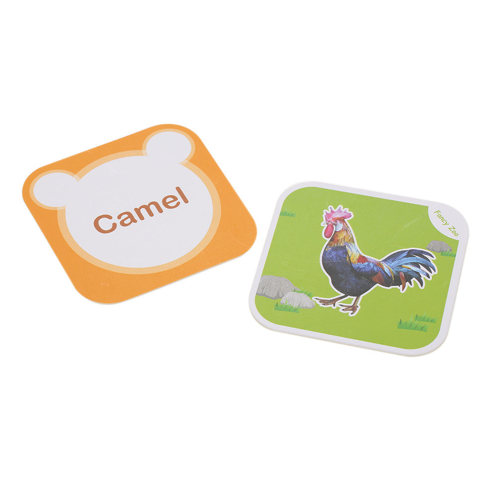4D Animal Cards w/ 13 Switchable Languages for Early Language Immersion